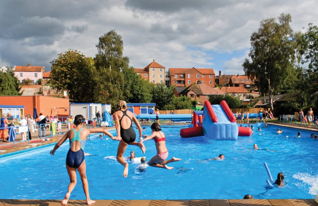 50p off admission at Beccles Lido