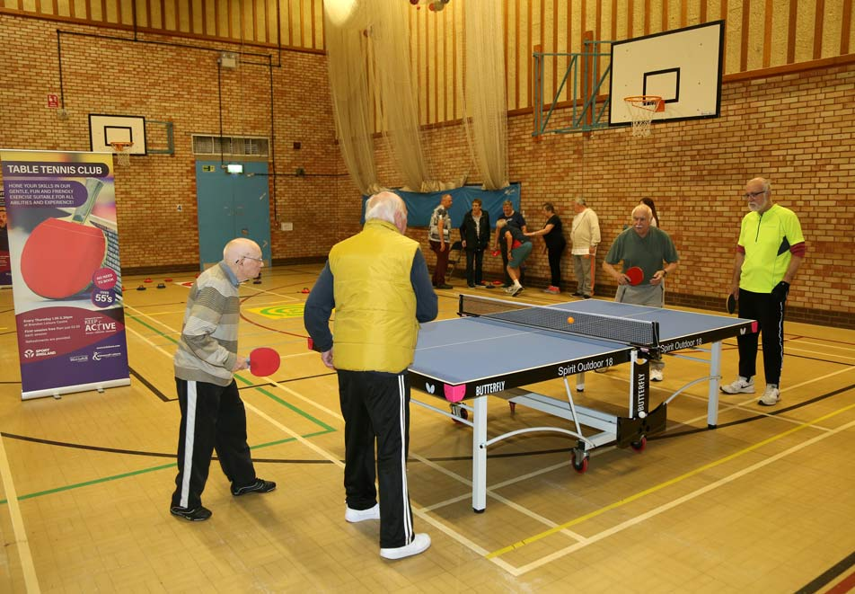 FREE 'Keep Active' session for over 55's